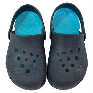Crocs Electro Clogs Navy Blue Size C11